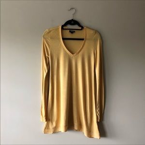 Women's mustard hello tunic/ dress🍀 3/$10.00
